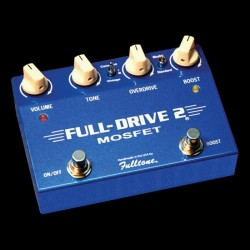 PEDALE EFFET OVERDRIVE FULLTONE FULL-DRIVE 2 MOSFET