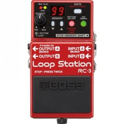 PEDALE LOOPER BOSS RC3 LOOP STATION