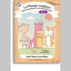 Voyage Magique Niveau 1 Decouvreur (Avec Portees)Cah.Pno(Avec Cd)~ Not Specified (Piano Solo)