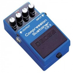 PEDALE EFFET BOSS CS3 COMPRESSION/SUSTAINER