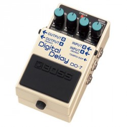PEDALE EFFET BOSS DD7 DIGITAL DELAY