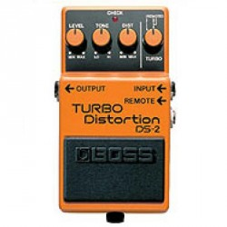 PEDALE EFFET BOSS DS2 TURBO DISTORTION