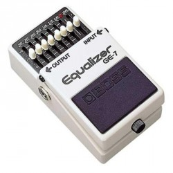 PEDALE EFFET BOSS GE7 EQUALIZER