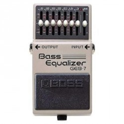 PEDALE EFFET BASSE BOSS GEB7 EQUALIZER