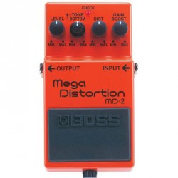 PEDALE EFFET BOSS MD2 MEGA DISTORTION
