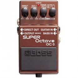 PEDALE EFFET BOSS OC3 SUPER OCTAVE