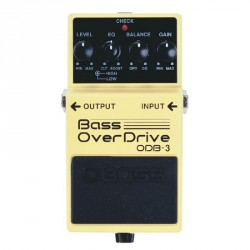 PEDALE EFFET BASSE BOSS ODB3 OVERDRIVE