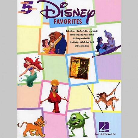 Disney Favourites Five Finger Piano