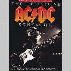 AC/DC The Definitive AC/DC Songbook