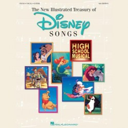 The Illustrated Treasury Of Disney Songs