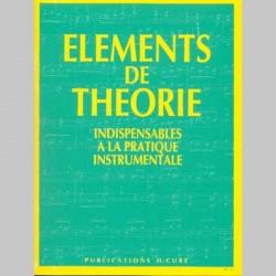 CUBE Eléments de Théorie indispensables à la pratique instrumentale