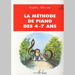 Sophie Allerme : Méthode De Piano '4-7 Ans' - Partitions