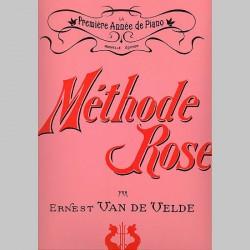 Ernest Van de Velde : Méthode Rose 1Ère Année (Version Traditionnelle)~ Étude (Piano Solo