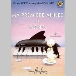 Charles Hervé, Jacqueline Pouillard -Ma Première année de piano