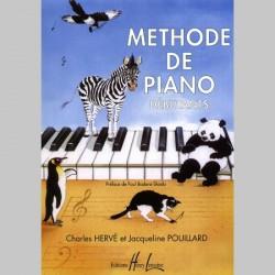 Charles Hervé, Jacqueline Pouillard - Méthode de Piano Débutants
