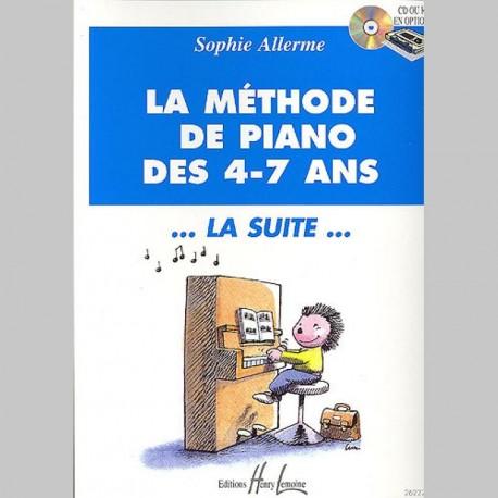Sophie Allerme : Méthode De Piano 'La Suite' - Partitions