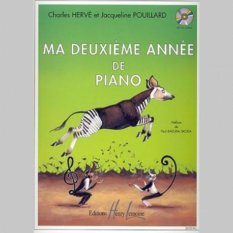 Charles Hervé Pouillard : Ma 2Ème Année De Piano - Partitions