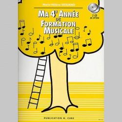 Siciliano: Ma 4Ème Année De Formation Musicale - Partitions