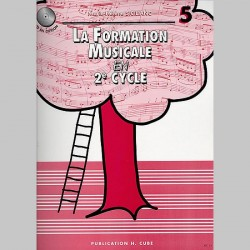 Siciliano: La Formation Musicale Vol.5 - Partitions