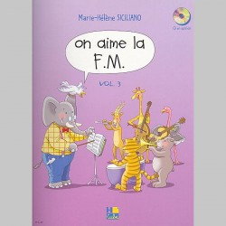 Siciliano: On Aime La F.M. 3Eme Année - Partitions