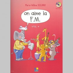 Siciliano: On Aime La F.M. 4Eme Année - Partitions
