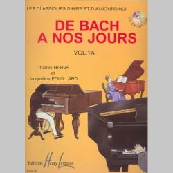 Charles Hervé : De Bach À Nos Jours Vol.1A - Partitions