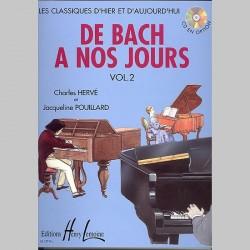 Charles Hervé : De Bach À Nos Jours Vol.2 - Partitions