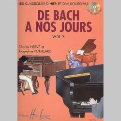 Charles Hervé : De Bach À Nos Jours Vol.3 - Partitions