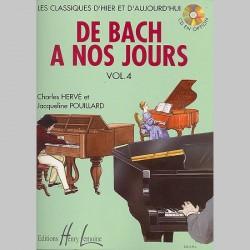 Charles Hervé : De Bach À Nos Jours Vol.4 - Partitions