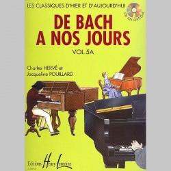 Charles Hervé : De Bach À Nos Jours Vol.5A - Partitions