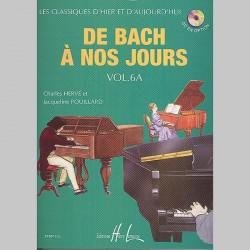 Charles Hervé : De Bach À Nos Jours Vol.6A - Partitions