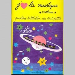 Cléo : J'Aime La Musique Vol.1 - Partitions
