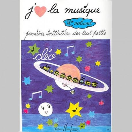 Cléo : J'Aime La Musique Vol.2 - Partitions