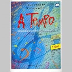 Boulay: A Tempo - Partie Orale - Volume 1 - Partitions