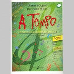 Boulay: A Tempo - Partie Ecrite - Volume 1 - Partitions