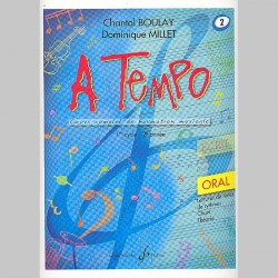 Boulay: A Tempo - Partie Orale - Volume 2 - Partitions