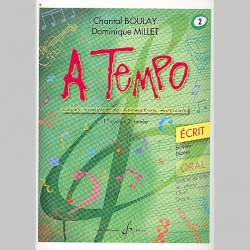 Boulay: A Tempo - Partie Ecrite - Volume 2 - Partitions