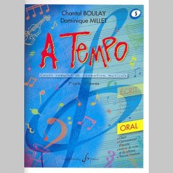 Boulay: A Tempo - Partie Orale - Volume 5 - Partitions