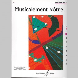 Jollet: Musicalement Votre Volume 1 - Partitions