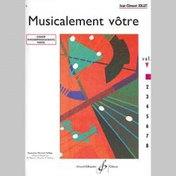 Jollet: Musicalement Votre Volume 1 Accompagnements Professeur - Partitions