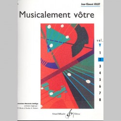 Jollet: Musicalement Votre Volume 2 - Partitions