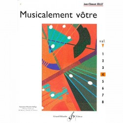 Jollet: Musicalement Votre Volume 4 - Partitions