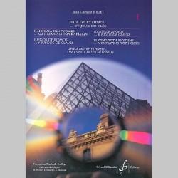 Jollet: Jeux De Rythmes Et Jeux De Cles - 6 Langues - Im1 - Volume 1 - Partitions