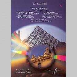Jollet: Jeux De Rythmes Et Jeux De Cles - 6 Langues - Volume 5 - Partitions