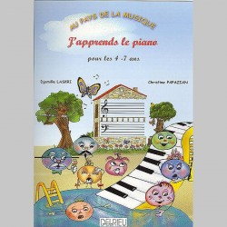 J'Apprends Le Piano - Partitions Djamila Laskri :