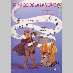 LAMARQUE: La Magie De La Musique VOL 1- Partitions
