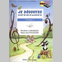 Lamarque : Je Découvre Le Clé De Sol Et Fa Vol.1 - Partitions