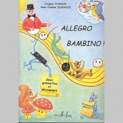 Tharaud : Allegro Bambino - Partitions et CD