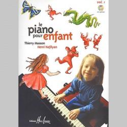 Thierry Masson : Piano Pour Enfant Vol.1 - Partitions
