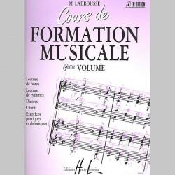 Labrousse : Cours De Formation Musicale Vol.6 - Partitions